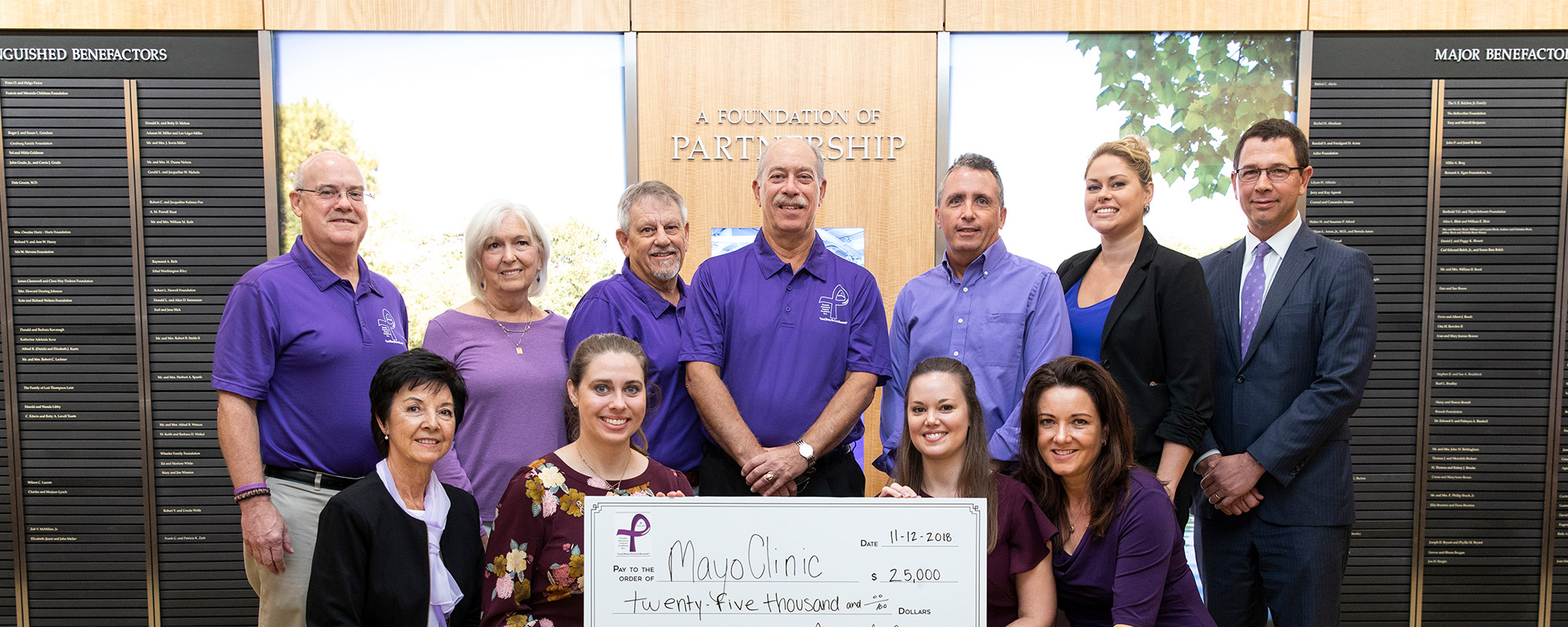 Check Presentation at Mayo Clinic